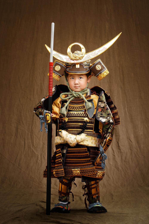 福知山市 七五三 甲冑 鎧 兜